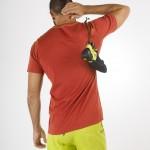 La Sportiva Van T-Shirt M, una maglietta d'arrampicata che rende omaggio agli anni '70,