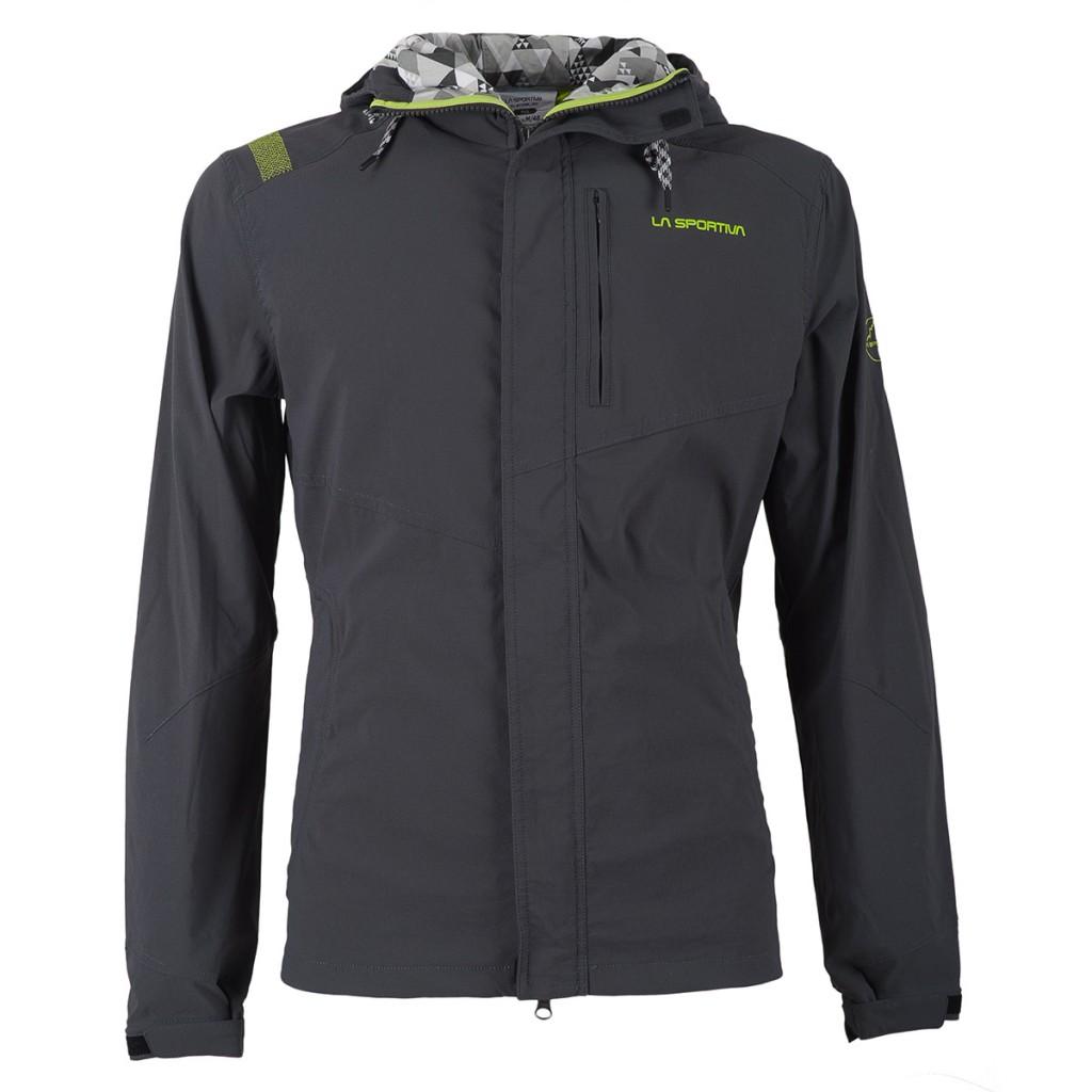 La Sportiva Grade JKT M is a technical traveller jacket, with unique pillow construction.