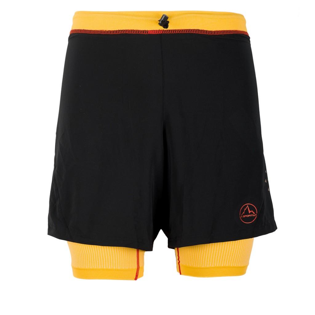 La Sportiva Rapid Short M - pantaloncino da trail running super accessoriato ideale per utilizzo endurance