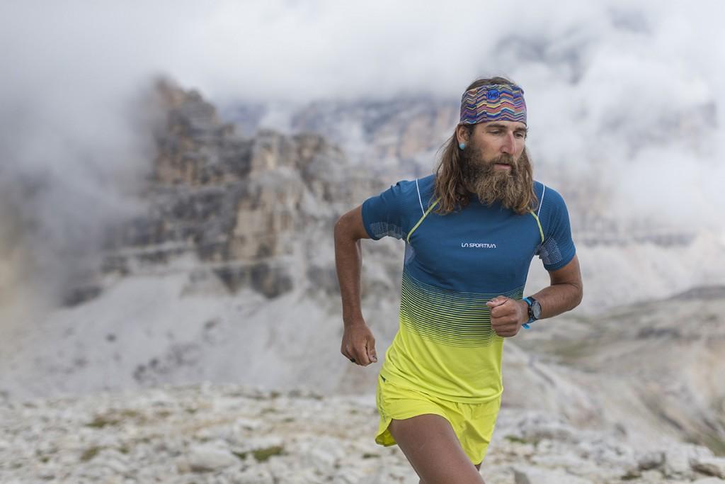 La Sportiva Skin T-Shirt M, a seamless knit trail running tee