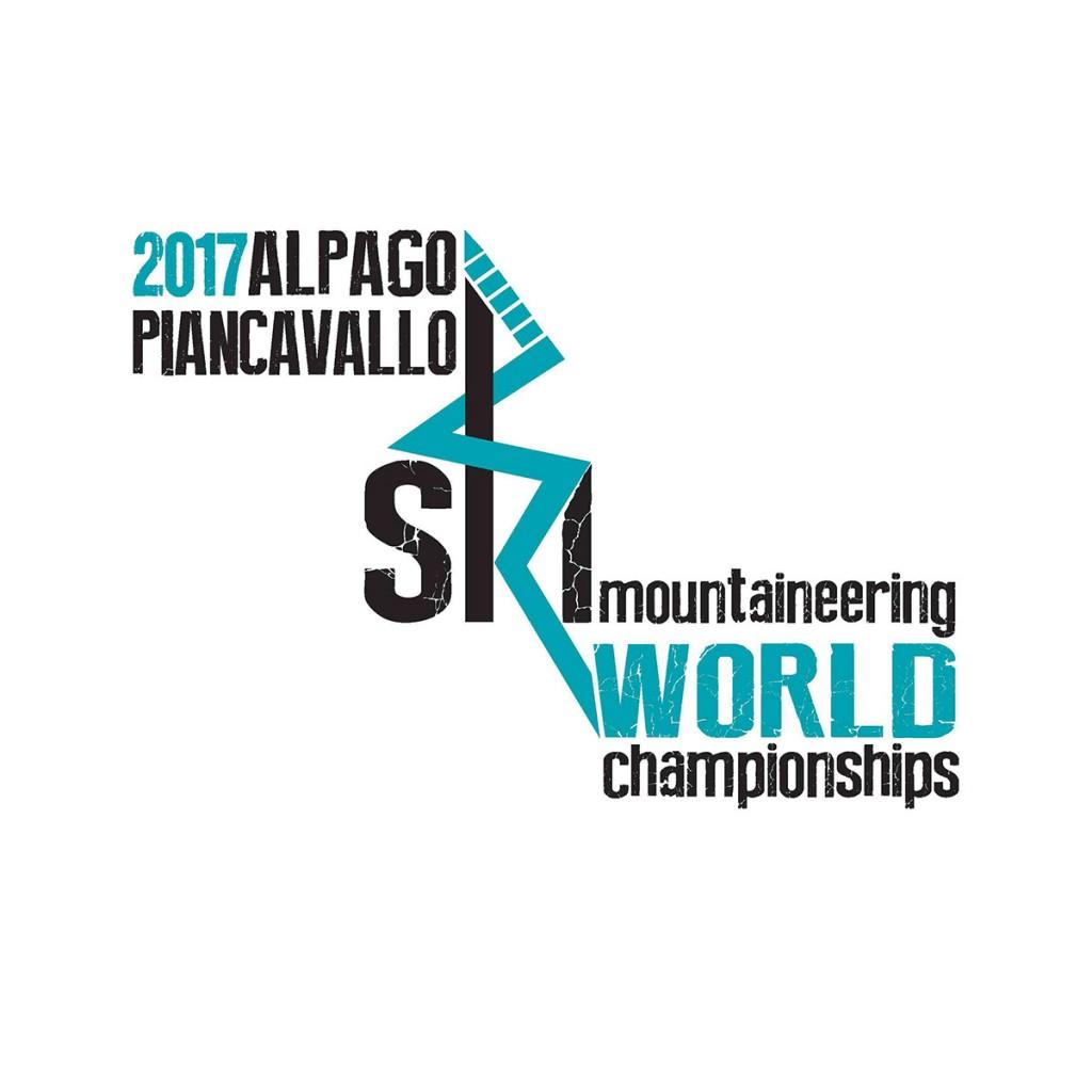 il logo dei Campionati Mondiali di scialpinismo di Alpago - Piancavallo.