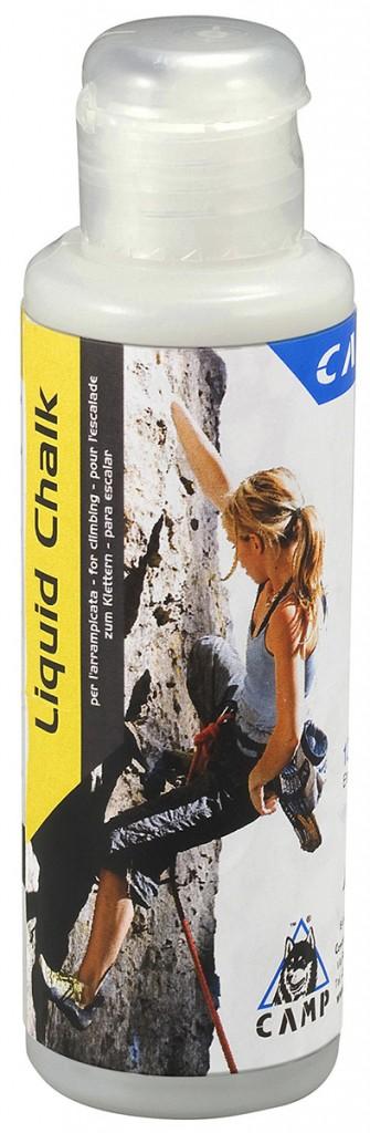 Liquid Chalk è una magnesite liquida per arrampicata senza alcool.