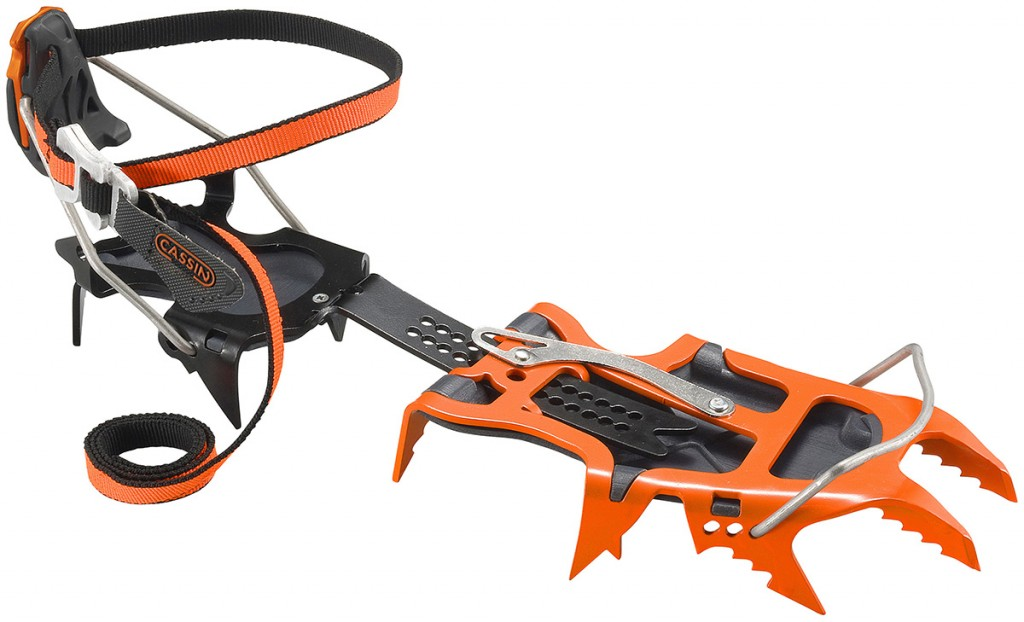 Cassin Alpinist Pro crampons for the most technical alpine terrain, ice climbing and mixed climbing.