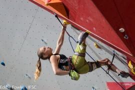 Janja Garnbret: la top climber CAMP è pronta ad un'altra stagione al vertice © Eddie-Fowke