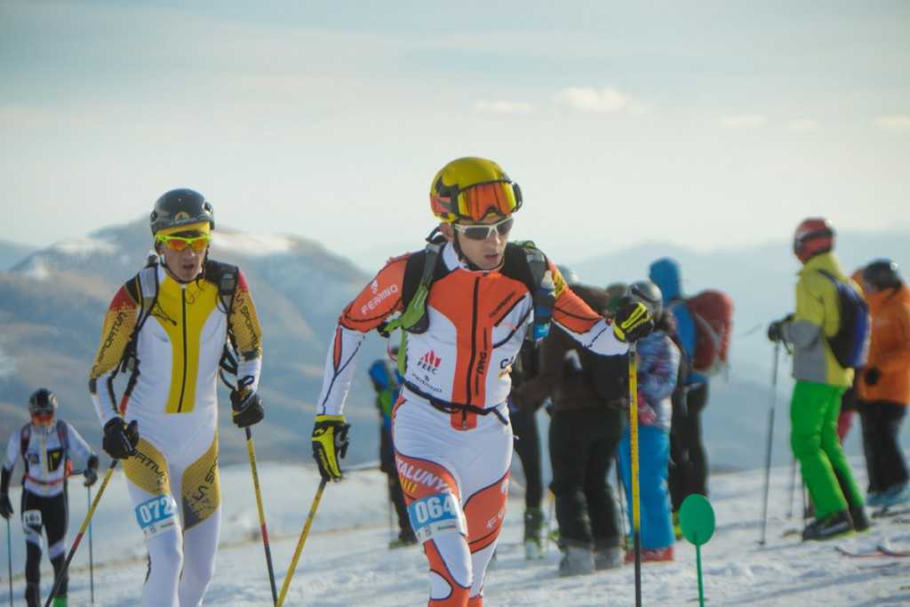 Ferrino is proud to be an Official sponsor of the Selecció Catalana d'Esquí de Muntanya and CTEMC, the Catalan Team of Ski Mountaineering © Miquel Taverna