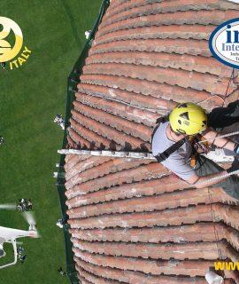 KONG S.p.A. di Monte Marenzo: per la prima volta in Italia un corso per accedere agli edifici storici con l'uso di funi