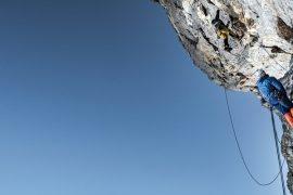Climbing a new route up the Matterhorn in Switzerland © Thomas Senf