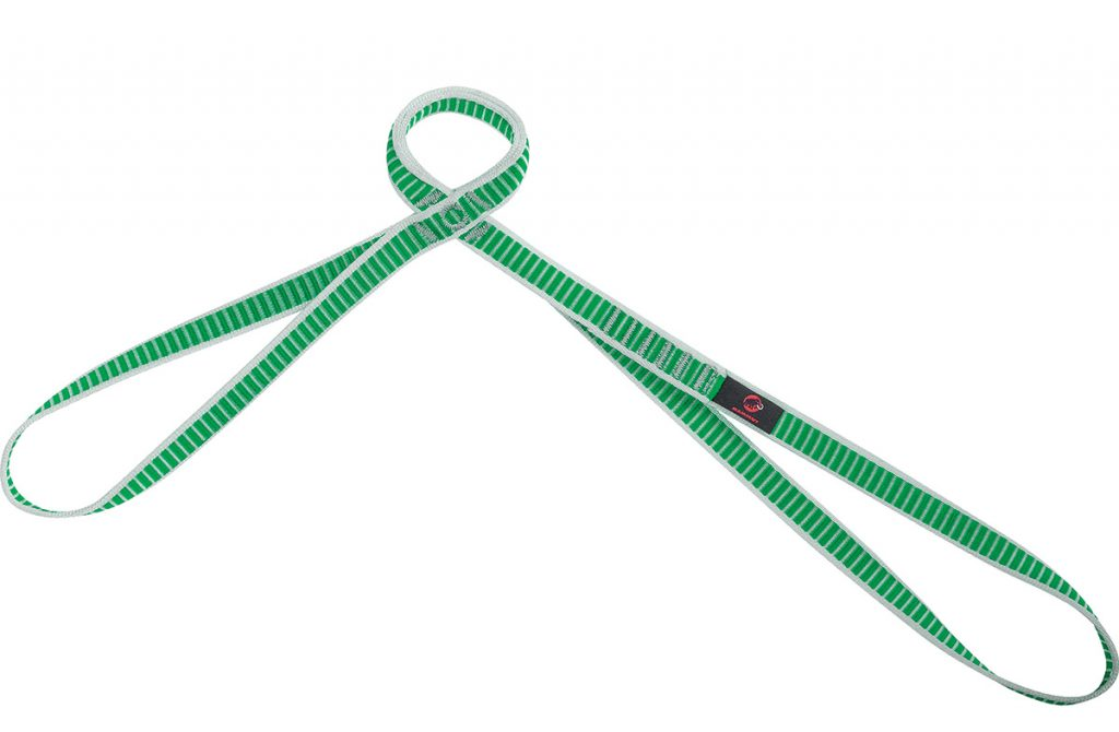 The Belay Sling for climbing and Big Wall climbing by Mammut, for maximum safety at the belay station and when rappelling
