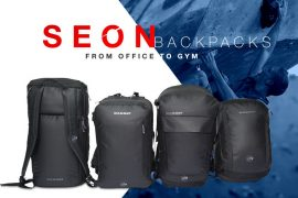 Mammut Seon: functional backpack for climbing and the work place.