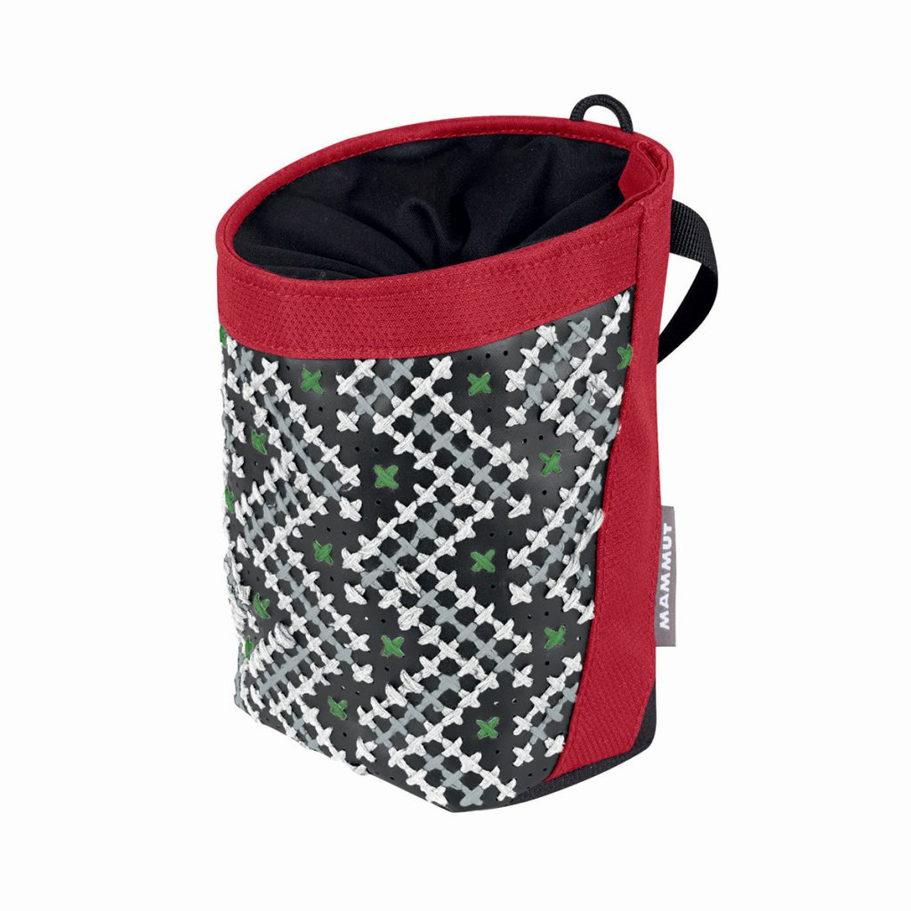 Stitch Chalk Bag by Mammut for rock climbing and bouldering