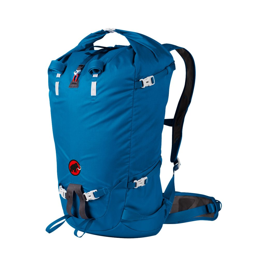 Ultralight rucksack by Mammut Trion Light 28+, waterproof for via ferrata and climbing