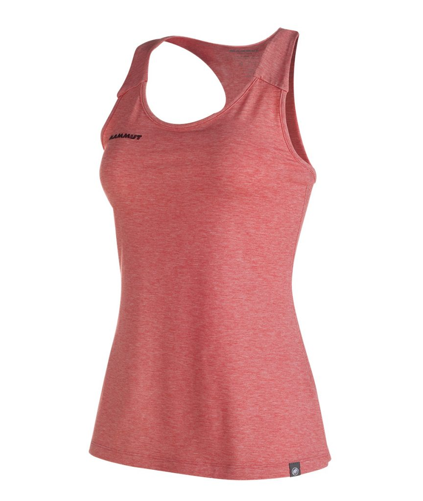 Tank top Wall Top Women by Mammut, ideal for climbing and bouldering.
