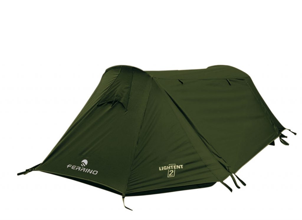 Ferrino Lightent, a reliable lightweight tent for one person