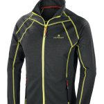 Ferrino Marakle Jacket Man, a lightweight and warm second layer for mountaineering and walking in the mountains.