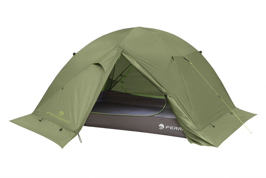 Ferrino Gobi 2 is a comfortable, lightweight tent for three season camping for two people with double entrance guaranteeing excellent ventilation.