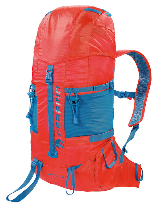 Lightweight backpack for alpinism and climbing.