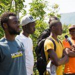 Orto Salewa, migranti, rifugiati