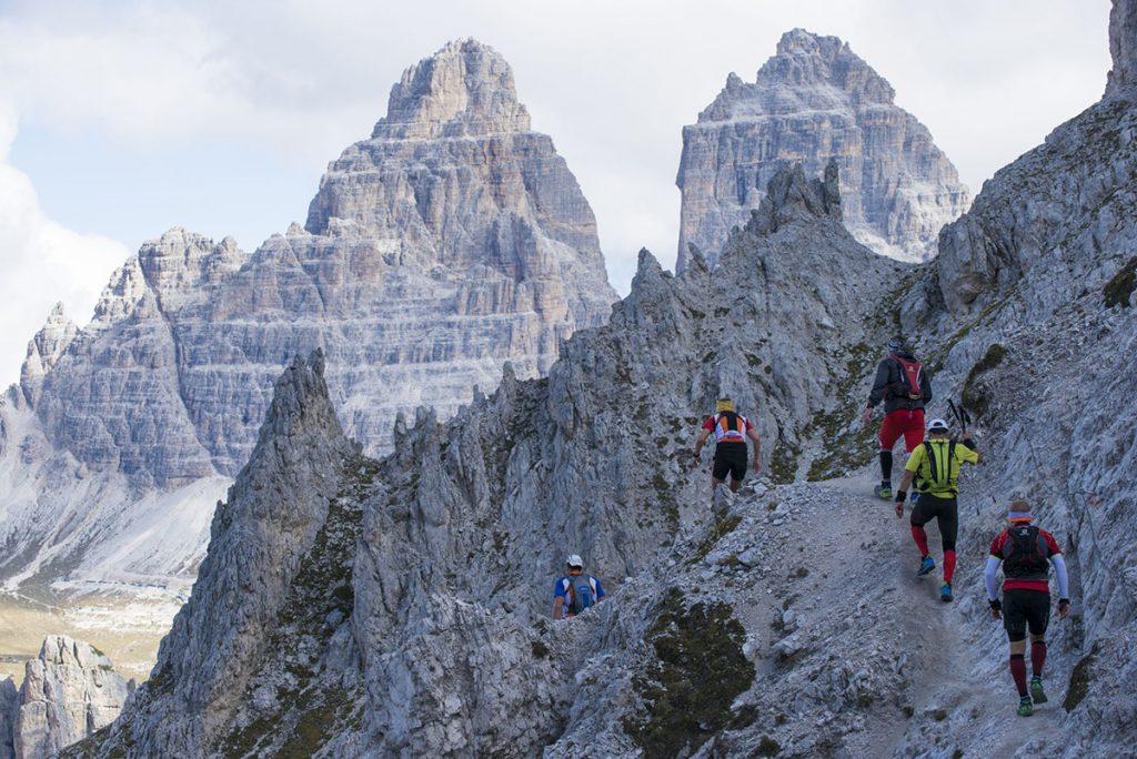SCARPA sponsor della corsa in montagna Tre Cime Experience del 9 e 10 settembre: tre gare di trail running nella splendida cornice delle Dolomiti.