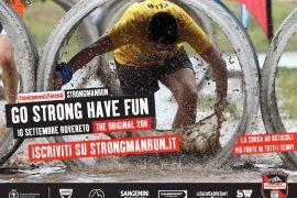 """Ufficializzata la partnership tra l'azienda di Ziano di Fiemme La Sportiva e la StrongmanRun di Rovereto, la gara ad ostacoli più dura e divertente del momento, che si correrà il prossimo 16 settembre nella sua versione """"the Original"""" 20km."""
