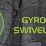 The Gyro system on the CAMP via ferrata lanyard, judged best anti-tangling system available on the market.