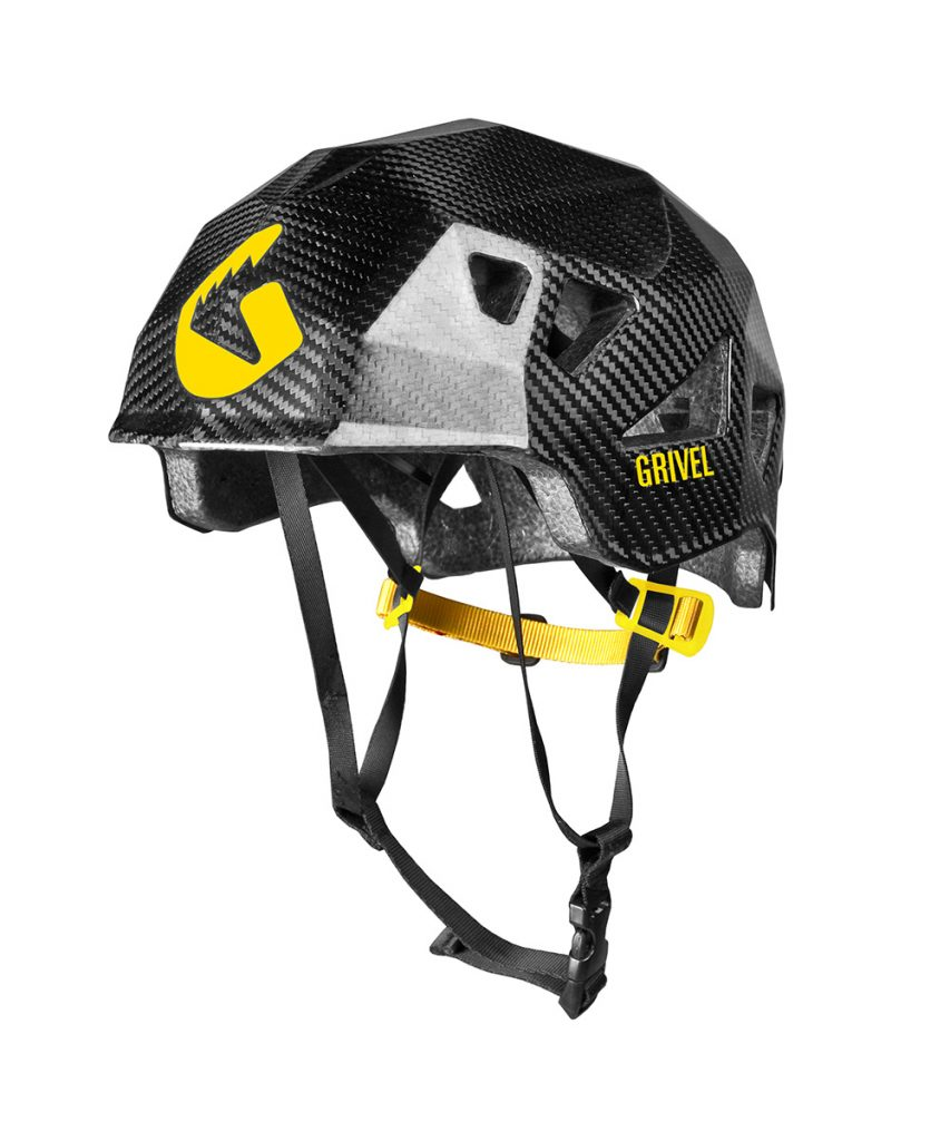 Stealth Carbon climbing helmet by Grivel
