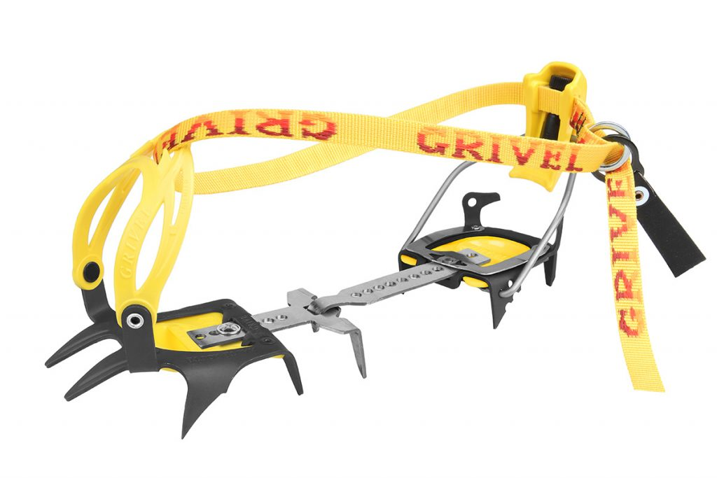 G 10.12 by Grivel. A 10 point crampon or 12 point crampon in just one crampon