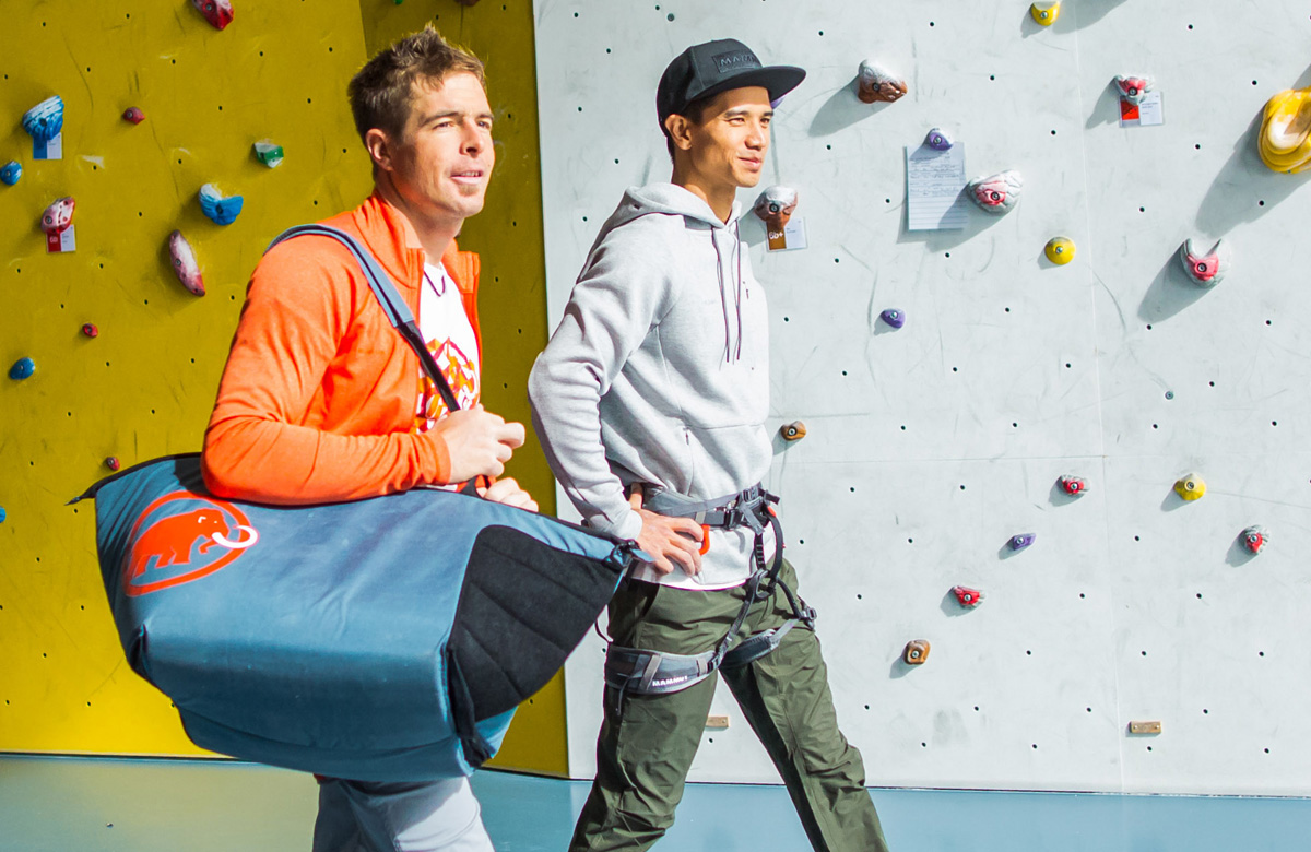 c2d0b230c9b4 This creativity and diversity of climbing and bouldering is what Mammut  used as a model in