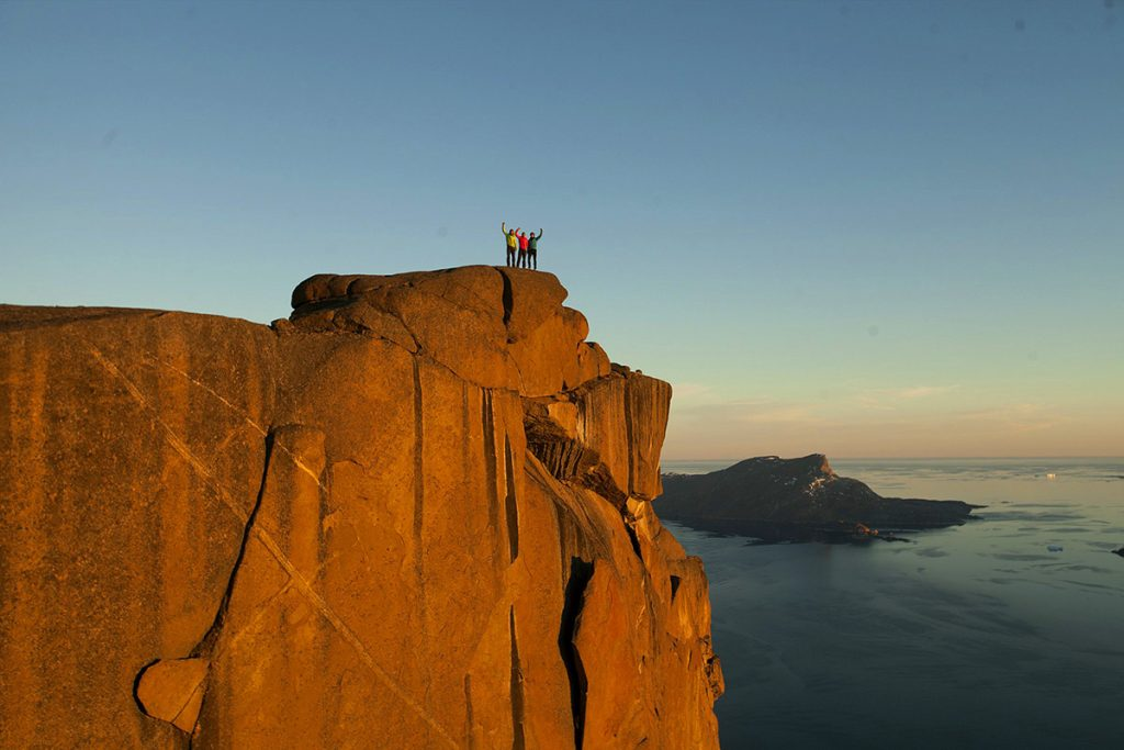 Marcin Tomaszewski has established two new big wall rock climbs in Greenland with Wojtek Malawski, Konrad Ociepka and Mateusz Solecki.