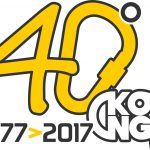 Il nuovo logo per festeggiare il 40° anniversario della KONG spa