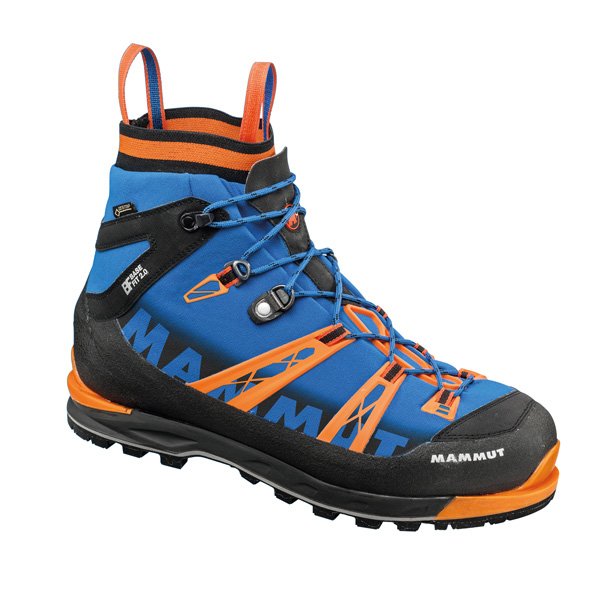 The Nordwand Light Mid GTX® Men features a board lasting construction and is the lightest fully crampon-compatible shoe in the Mammut range.