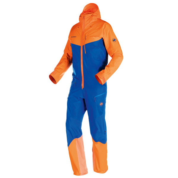 The Nordwand Pro HS Suit is the ideal choice for extreme alpinists