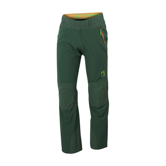 Stretchy and resistant climbing pants Free Shape Stone Pant by Karpos for mountaineering, hiking, walking in the mountains.