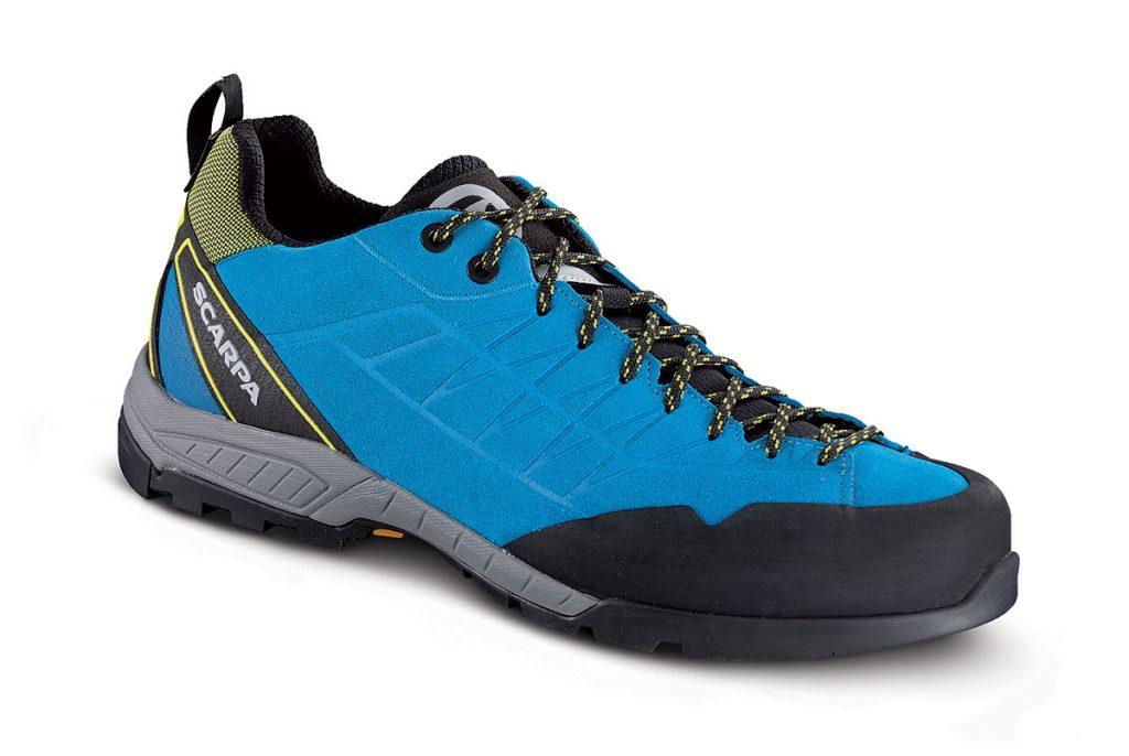 Scarpe avvicinamento Epic GTX; una calzatura da avvicinamento versatile, comoda e performante, perfetta per sentieri in montagna e vie ferrate.