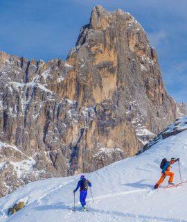 La Sportiva, Passo Rolle, Scialpinismo