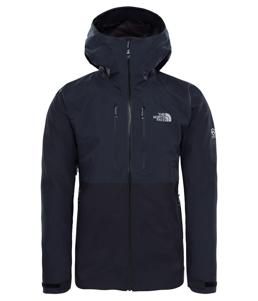 Goretex jacket The North Face Summit L5 offers durable, waterproof, breathable protection for alpinism