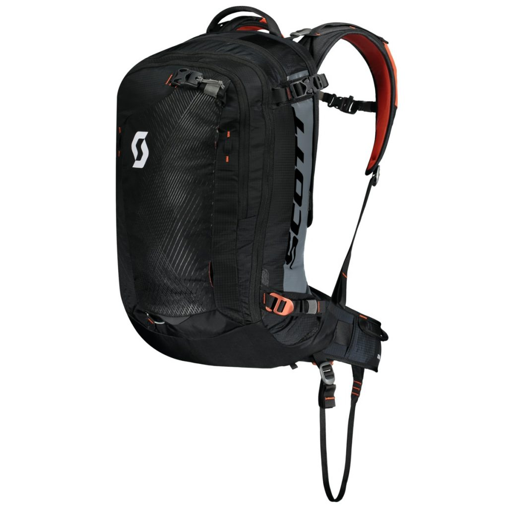 Avalanche airbag backpack Guide AP by Scott for backcountry skiing