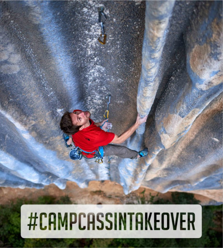 Stefano Ghisolfi from 16th to 23rd October will take over the Instagram account Camp1889