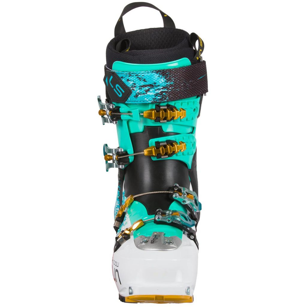 Women's Ski Touring Boots: Shadow by La Sportiva: female free-riding, to the max.
