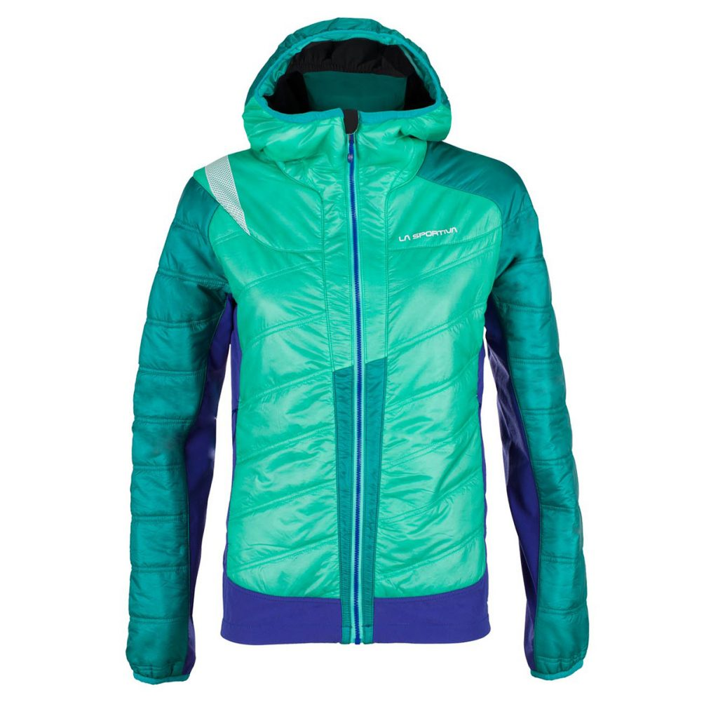 Synthetic down jacket Exodar JKT in Primaloft: lightweight and warm, ideal for ski mountaineering