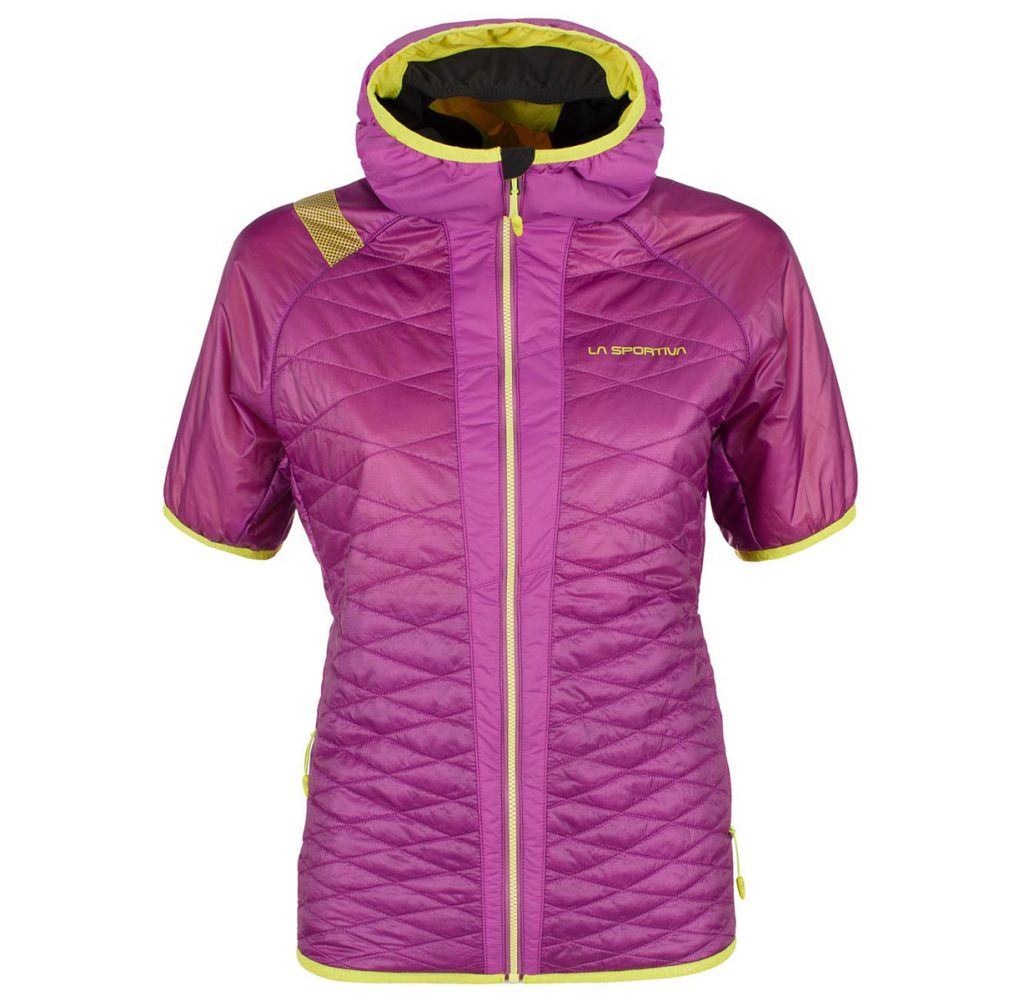 Synthetic down jacket for ski mountaineering Firefly Short Sleeve JKT by La Sportiva