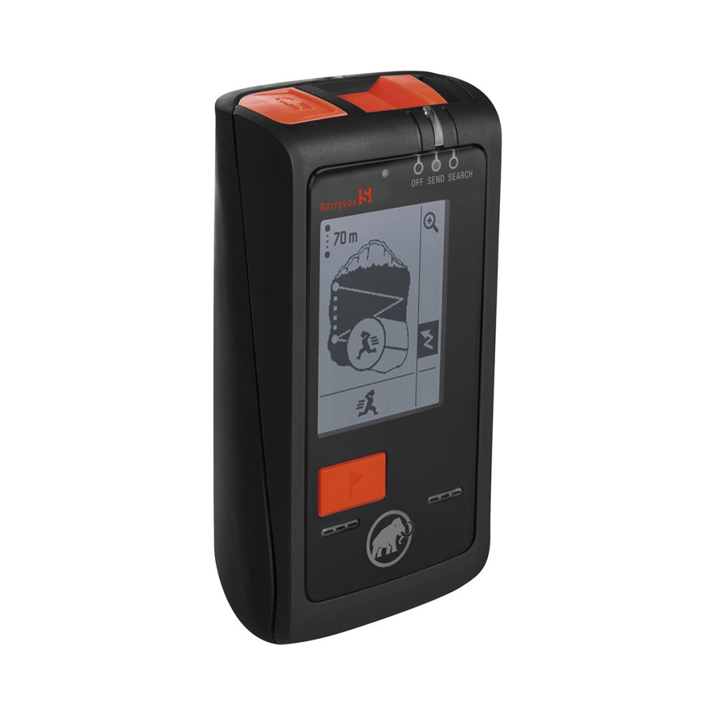 Mammut Barryvox S avalanche transceiver.