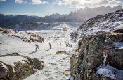 La Sportiva Epic Ski Tour dall'8 all'11 marzo: tre giornate di scialpinismo in Dolomiti fra Cermis, San Pellegrino e Pordoi.