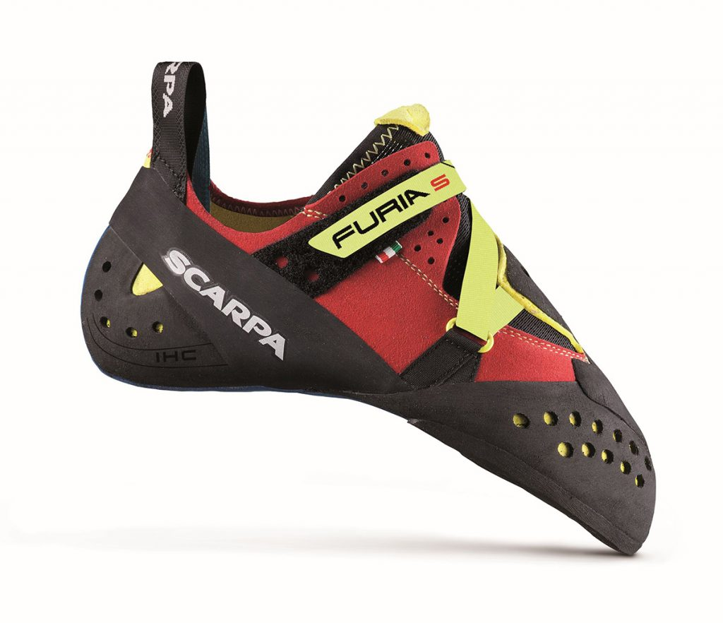 The sport climbing and bouldering shoes Furia S by SCARPA fit like a glove