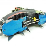 Light and compact 12-point semi-automatic climbing crampons