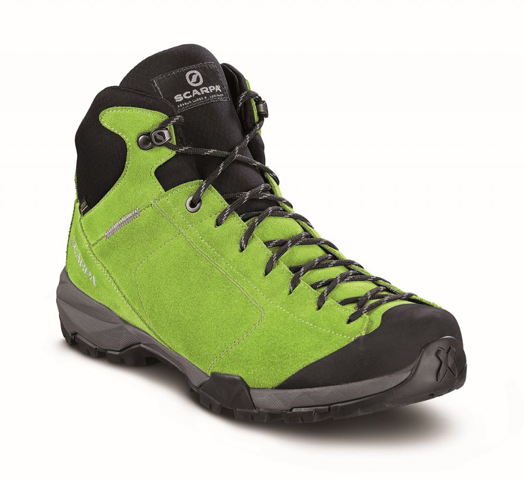 Scarpa Mojito Hike GTX, waterproof hiking shoes with Goretex liner and Vibram sole
