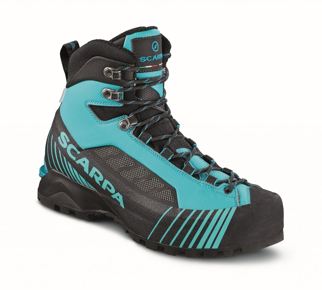Womens mountaineering boot Ribelle Lite OD, ideal for trekking, via ferrata and classic alpinism.