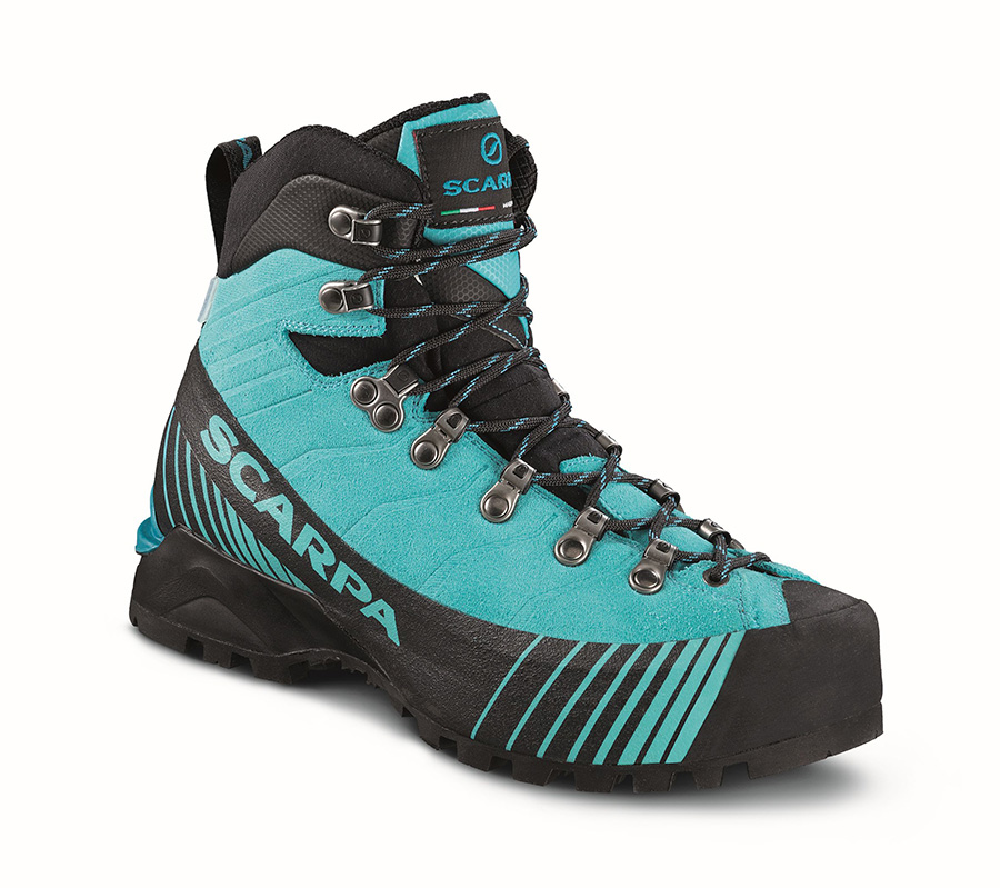 Women's Mountaineering Boots Ribelle OD Woman by SCARPA, ideal for technical trekking, via ferrata routes and technical alpinism.