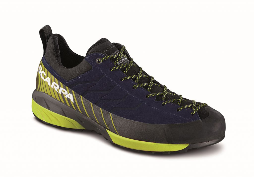 Mescalito walking shoes: protection and safety during approach routes, climbing and in all mountain outdoor activities