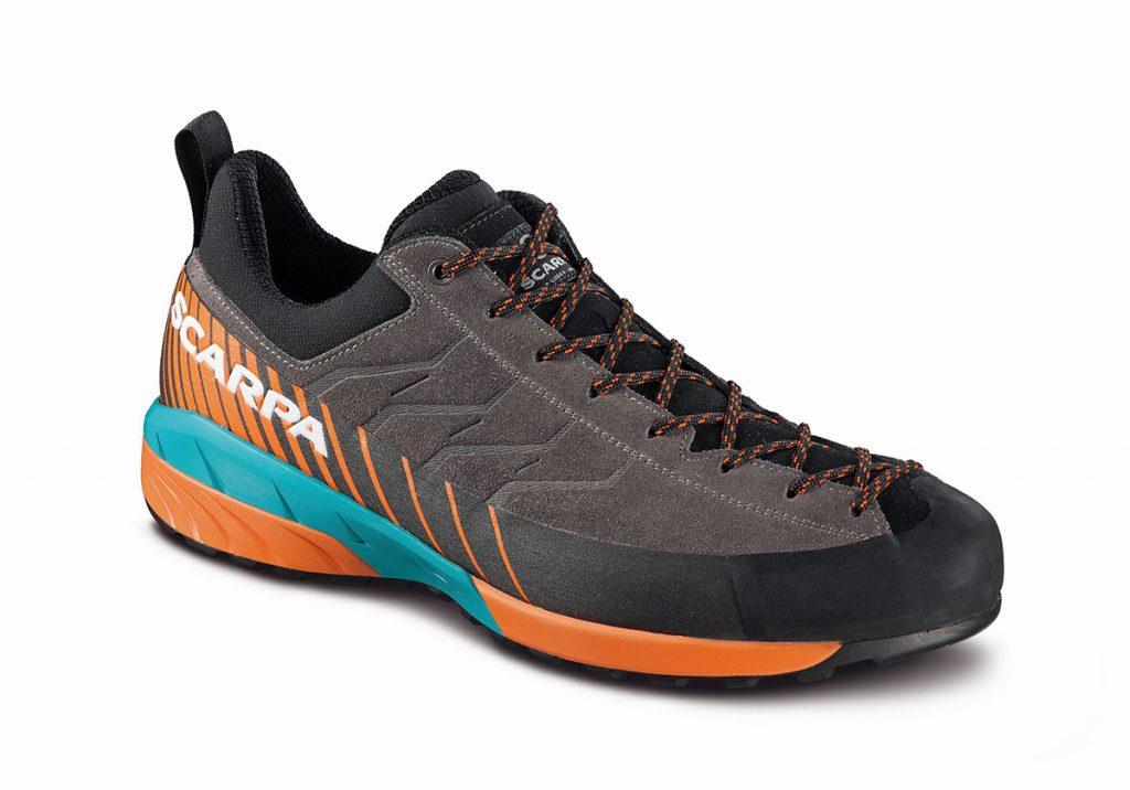 Rivoluzionaria scarpa avvicinamento: la Mescalito è la prima calzatura da approach che utilizza la nuovissima tecnologia Litebase sviluppata da Vibram.