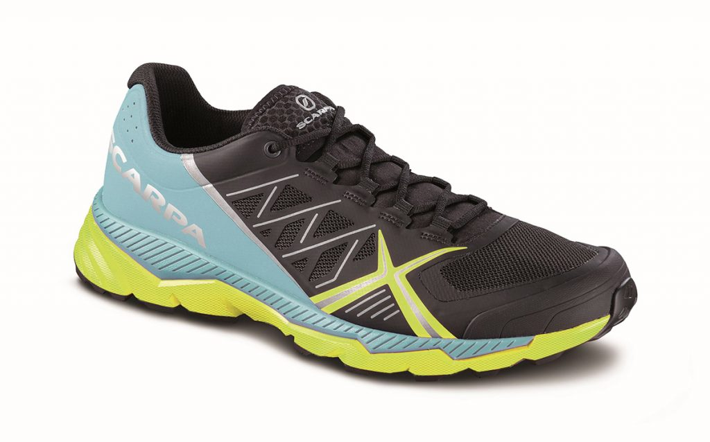 Trail running shoes for women Spin RS8 WMN by SCARPA with lightweight Vibram sole